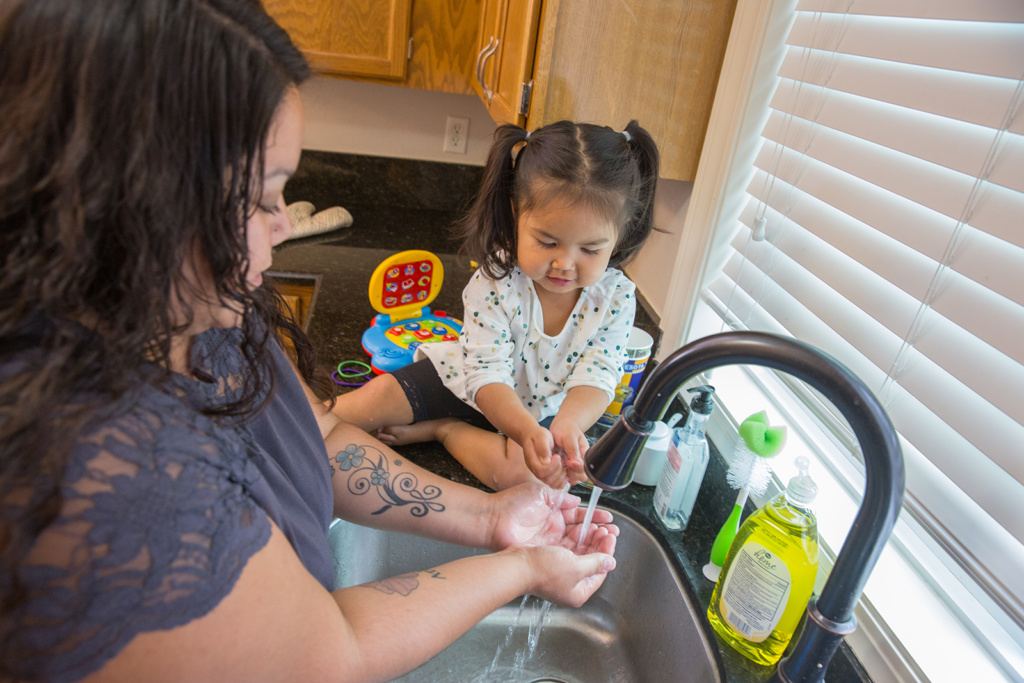 The ANTHC Individual Sanitation Facilities Scattered Sites program works across Alaska to provide eligible homes with on-site sanitation facilities.